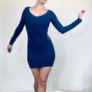 Boulee blue dress with cutouts size 0